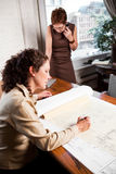 Working businesswomen Stock Photography