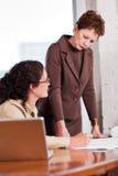 Working businesswomen Stock Photography