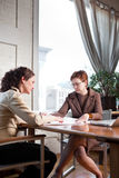 Working businesswomen Royalty Free Stock Images