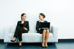 Working businesswomen Royalty Free Stock Photos