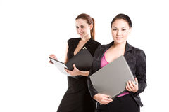 Working businesswomen Stock Photos