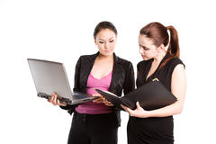 Working businesswomen Royalty Free Stock Image