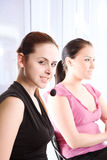 Working businesswomen Royalty Free Stock Photo
