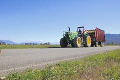 Working Canadian Farmer Royalty Free Stock Photos