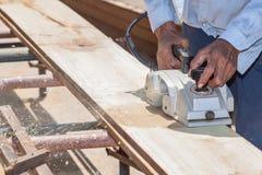 Working carpenter Stock Images