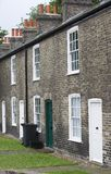 Working class houses. Houses of the working class. English houses Stock Photos