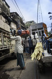 Working class in Kolkata, India Royalty Free Stock Photography