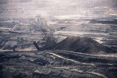 Working coal mine Stock Image