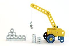 Working crane Royalty Free Stock Photos