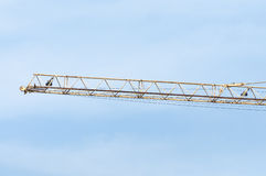 Working crane Royalty Free Stock Photography