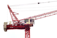 Working crane Royalty Free Stock Images