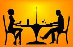 Working on a date (EPS format available) Stock Image