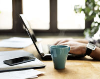 Working Desk Royalty Free Stock Photography