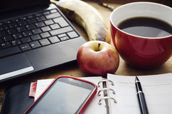 Working Desk Royalty Free Stock Image