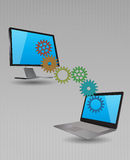 Working device Royalty Free Stock Photo