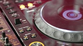 Working DJ console Stock Photography