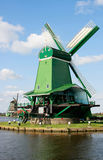 Working Dutch historical Windmill Royalty Free Stock Photo