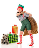 Working Elf Royalty Free Stock Photo