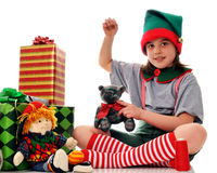 Working Elf Stock Photo