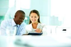 Working employees Stock Image