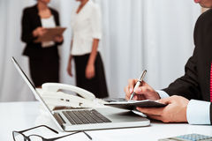 In working environment Stock Images