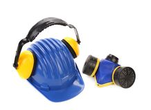 Working equipment for builders. Royalty Free Stock Images