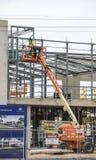 working för konstruktionsmanlokal Arkivbilder