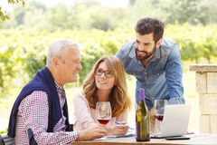 Working family Stock Photography