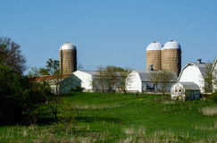 Working farm in michigan Stock Images