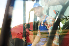 Working farmer Royalty Free Stock Photography