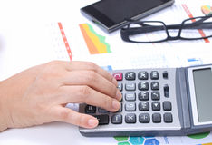 Working financial Stock Images