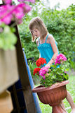 Working in the garden Royalty Free Stock Photography