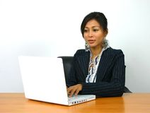 Working girl 1 Royalty Free Stock Photos