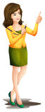 A working girl Stock Images