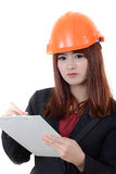 Working girl. Stock Photography