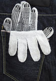 Working glove Stock Images