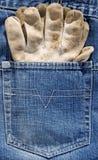 Working glove Stock Photo