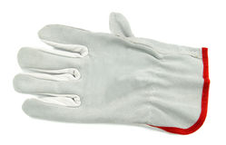 Working glove isolated Royalty Free Stock Photos