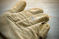 Working glove Royalty Free Stock Photo