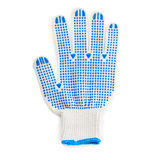 Working glove over isolated white background Royalty Free Stock Images