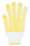 Working glove with rubber dots Stock Photography
