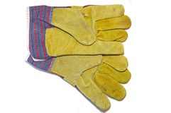Working gloves Royalty Free Stock Images