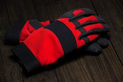 Working gloves Royalty Free Stock Photography