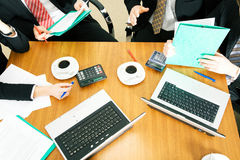 Working group Stock Photo
