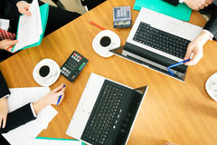 Working group Royalty Free Stock Image