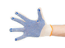 Working hand in glove Stock Photography