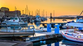 A working harbour... for tourists Royalty Free Stock Photos