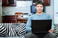 Working at home Royalty Free Stock Photography