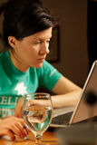 Working at home Stock Photos