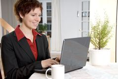 Working from home royalty free stock images